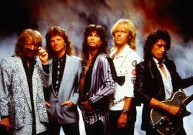 The band Aerosmith is formed