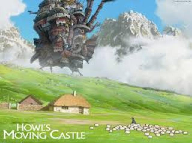 Howl's Moving Castle Released
