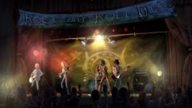 Areosmith performs at Nipmuc Regional Highschool