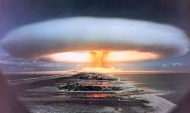 Fisrt Hydrogen Bomb Explosion