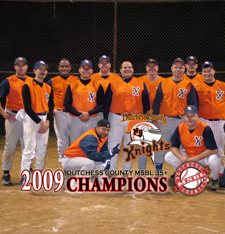 Dutchess County MSBL 35+ CHAMPIONS (Knights)