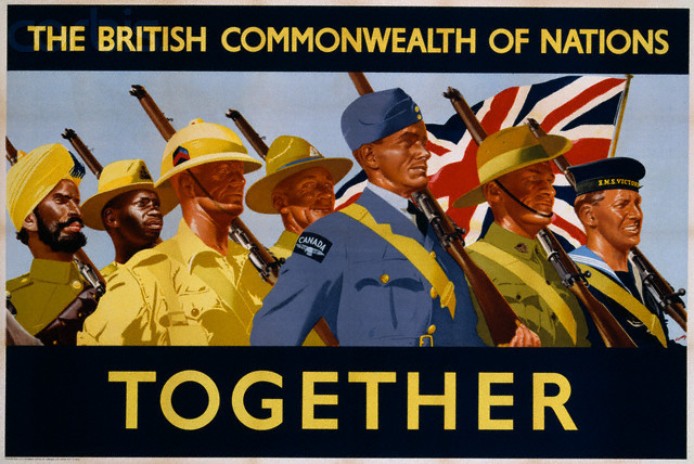 British Empire declares war on Germany - Canada included
