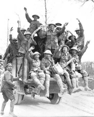 Canadian Corps take Vimy Ridge