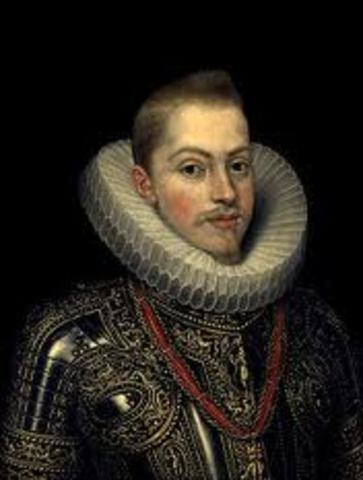 Felipe III de España se hace rey