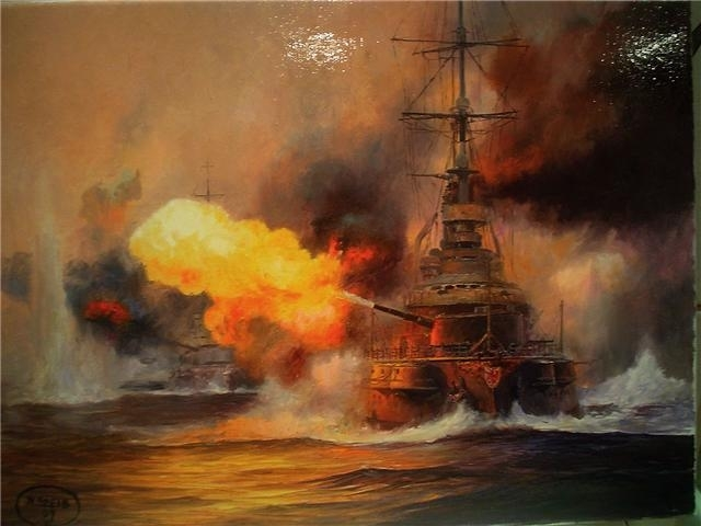 Battle of Jutland takes place with no clear victor