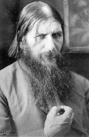 Raputin, the monk who had severly influenced the Tsar's wife and Russia's war effort, is assassinated