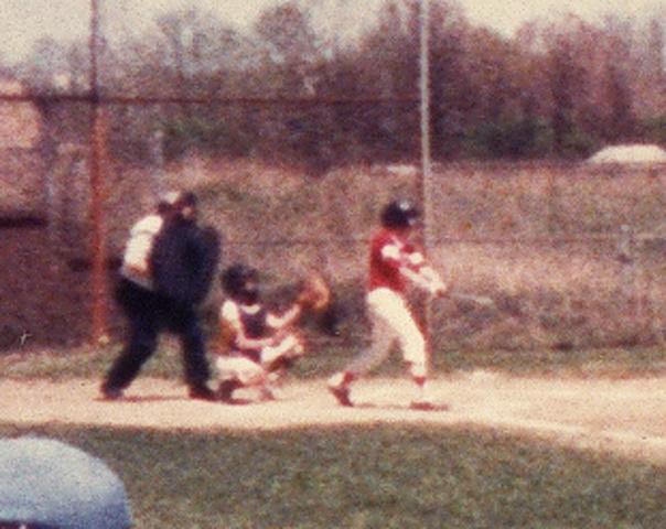 First Little League Hit