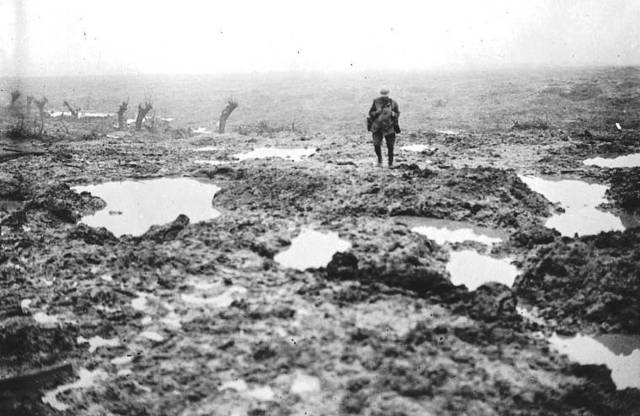 Battle of Passchendaele or 3rd Battle of Ypres begins and costs 700,000 lives for both sides by November