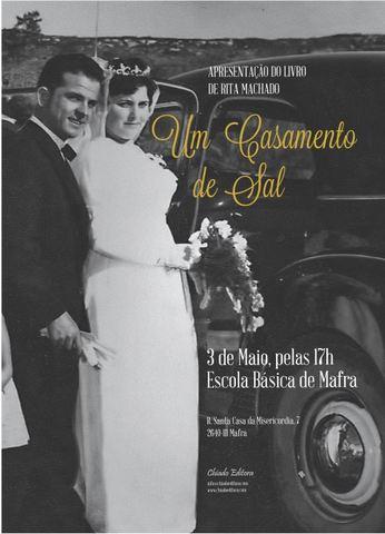 """Apresentação do livro """"Casamento de Sal"""""""