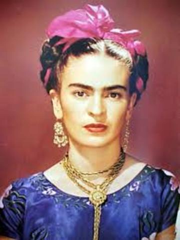 Death of Frida Kahlo