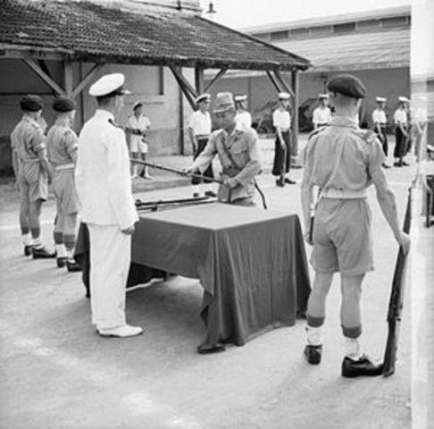 Japenese Relinquish Control Of Vietnam