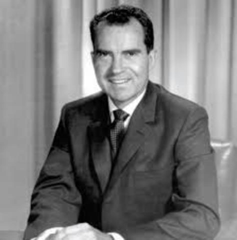 Nixon Sworn In