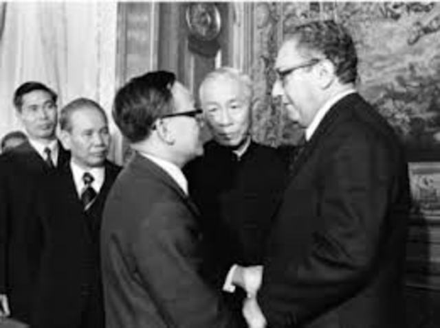 U.S. Peace Agreement with Vietnam Signed