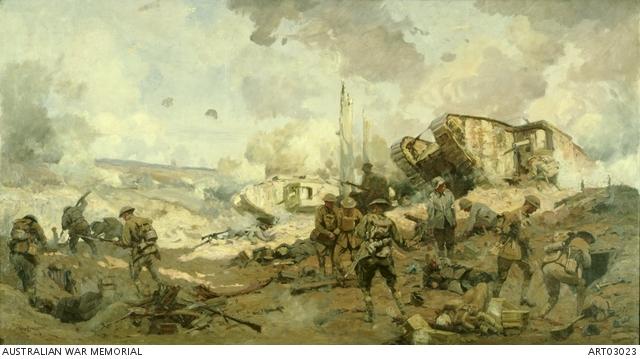 Battle of St. Quentin Canal Hindenburg line                           Kieran Scott 8/9A