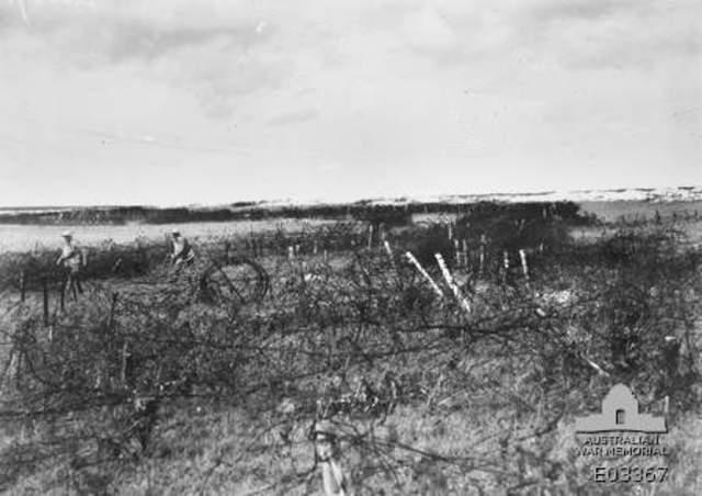Allies Storm Hindenburg Line