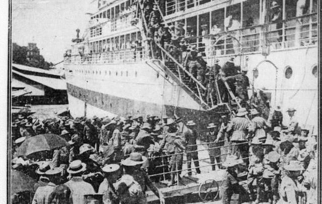 Australia recruits an army to send to Europe