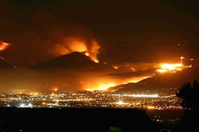 the cedar fire