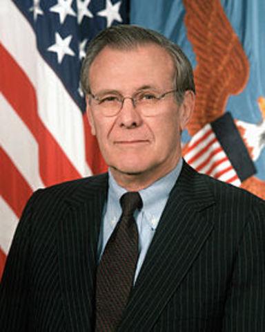 Donald Rumsfield