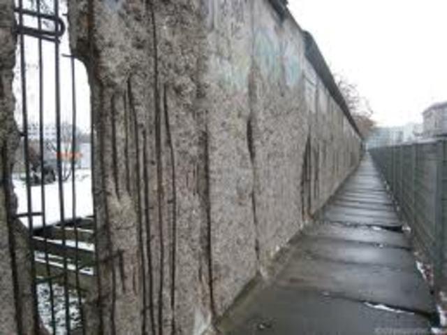 Berline Wall Destroyed