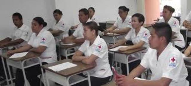 escuela de enfermeros