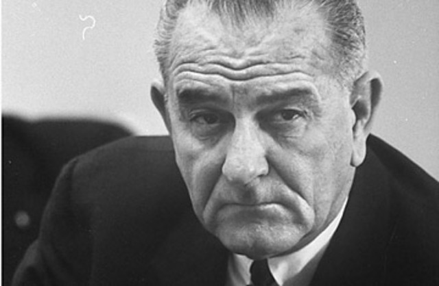 Lyndon Johnson Takes Office After John F. Kennedy Is Assassinated