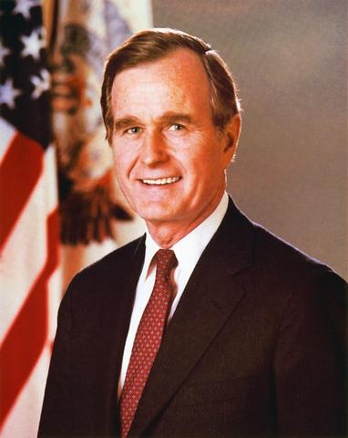George H. W. Bush was born.