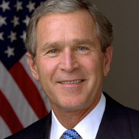 George W. Bush was born.