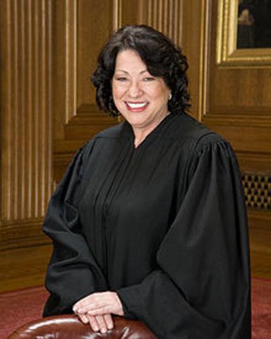 Sonia Sotomayor was born.