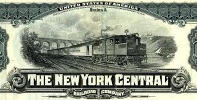 NY Central Railroad was built