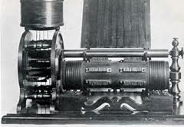 Vote recording machine was invented
