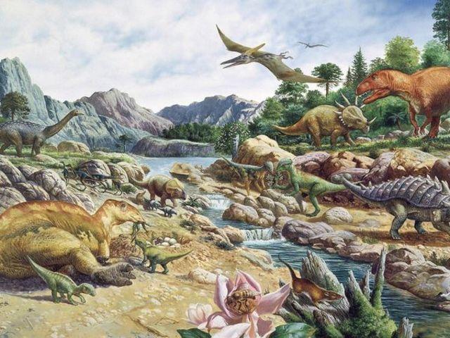 Cretaceous 136 MYA - 65 MYA