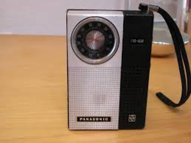 Transitor radion