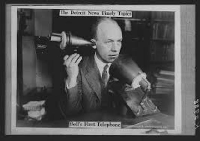 Telephone was invented