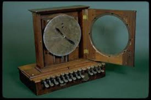 Cash register was invented