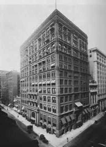 1st skyscraper built