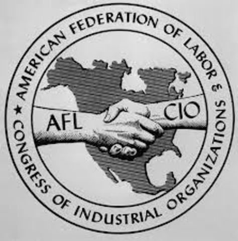 American Federation of Labor was founded