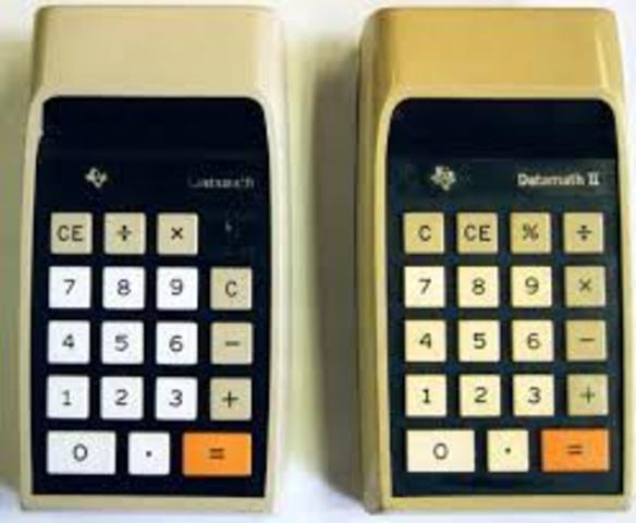 Calculator was invented