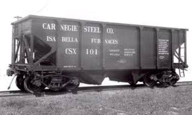 Carnegie's steel complany was sold