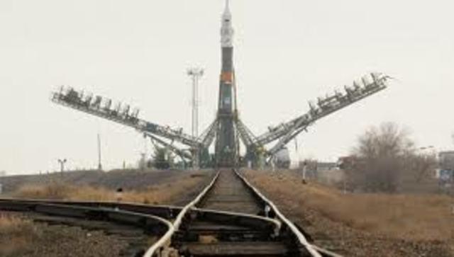 Soviet space launch