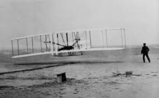 The first plane