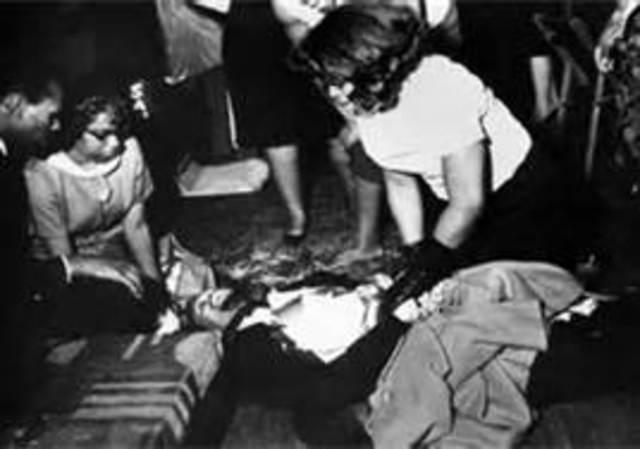 Malcolm X Shot Dead!