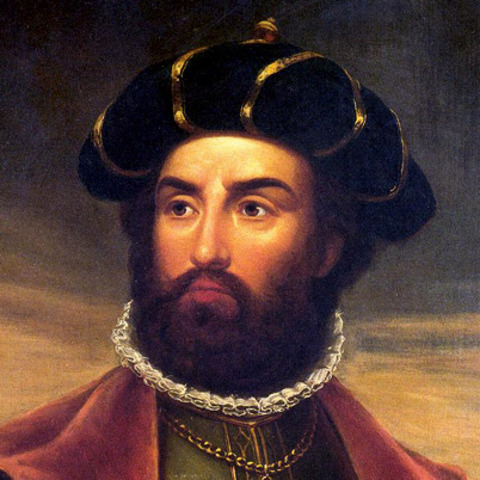 Vasco da Gama lands on Natal coast