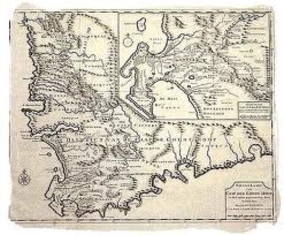 Cape Colony seized by the British, Dutch, and back to the British