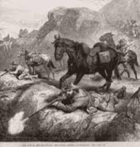 The First Anglo-Boer War begins