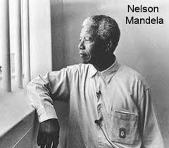Nelson Mandela sentenced to life imprisonment
