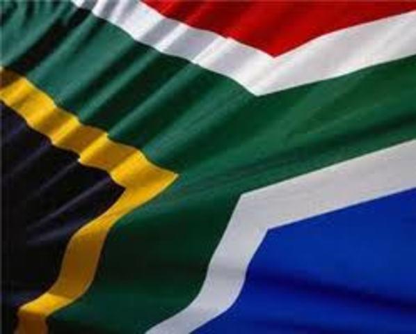 South Africa declares itself a republic