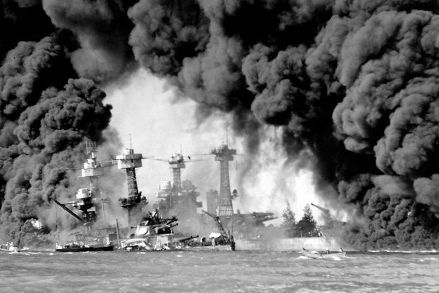 Pearl Harbor was bombed