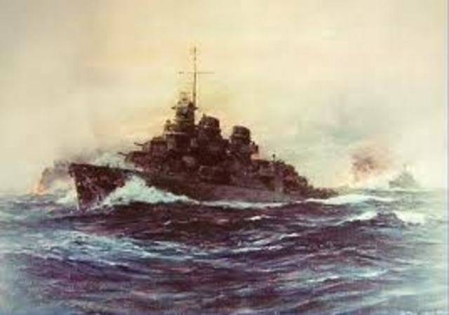 The Battle of Empress Augusta Bay
