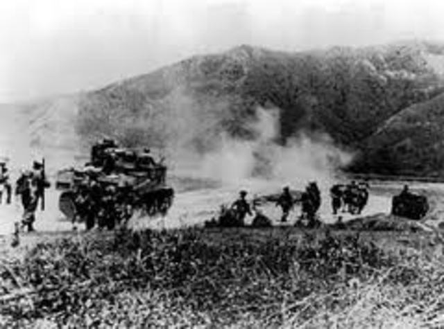 Japanese begin offensive toward Imphal and Kohima