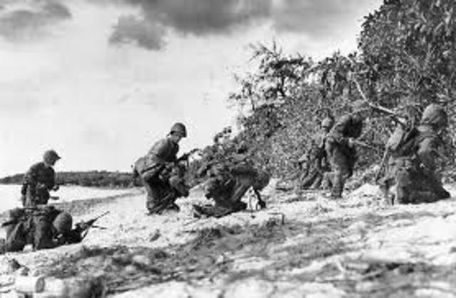 The Saipan Battle